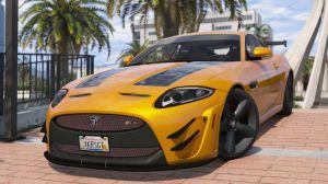 Jaguar XKR-S GT 2013 - мод на Ягуар для Gta 5