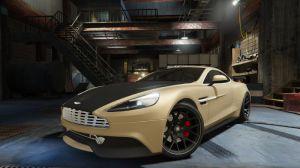 Aston Martin Vanquish V12 - мод на Астон Мартин в гта 5