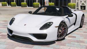 Porsche 918 - новая машина Порше 918 для гта 5