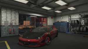 Ferrari 458 Italia - феррари италия для гта 5