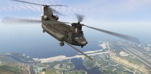 MH-47G Chinook - настоящий вертолет Чинук в гта 5
