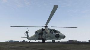 MH-60S Knighthawk - вертолет Сикорский  MH-60S ястреб