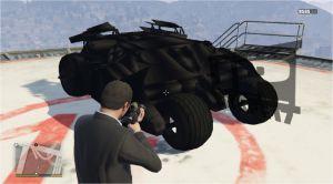 Batmobile V - мод на бэтмобиль для гта 5