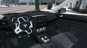 Mitsubishi Lancer Evo X мод на мицубиси лансер 10 для гта 5