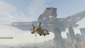 S.H.I.E.L.D. Helicarrier - летающий авианосец для гта 5