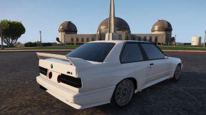 1991 BMW E30 - классическая гоночная БМВ для гта 5