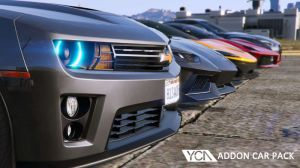 YCA Addon Car Pack - сборник новых машин для гта 5