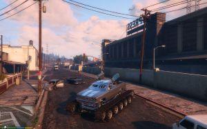 Armed ATV - боевой монстр на гусеницах для гта 5