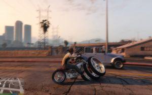 Monster Wheel - мотоцикл монстр для гта 5