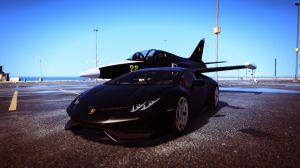 Lamborghini Huracan - новый авто Ламбо Хуракан в гта 5