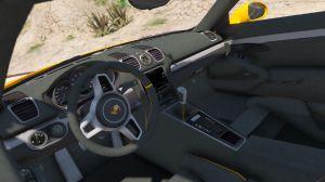 Porsche Cayman GT4 - машина порш Кайман для гта 5