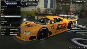 Mercedes CLK LM - супер спорт кар для гта 5 пк
