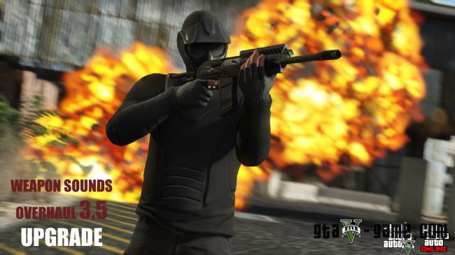 Weapon Sounds Overhaul - новые звуки оружия, новые ощущения