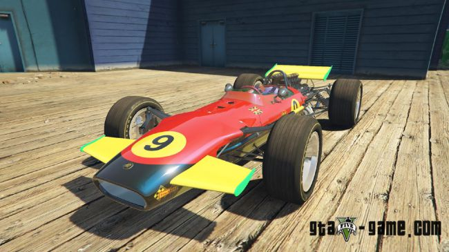 1967 Lotus 49 - гоночный балид Лотус 49 для гта 5