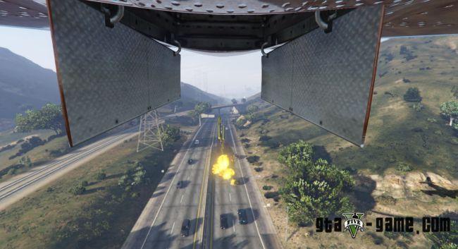 Carpet Bomber - мод на бомбардирование с самолетов в гта 5