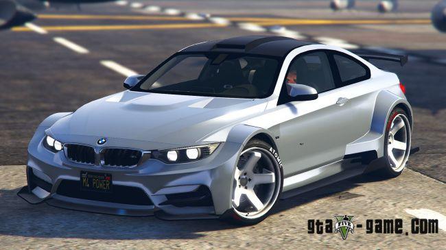 BMW M4 F82 очень красивая бмв мод для гта 5