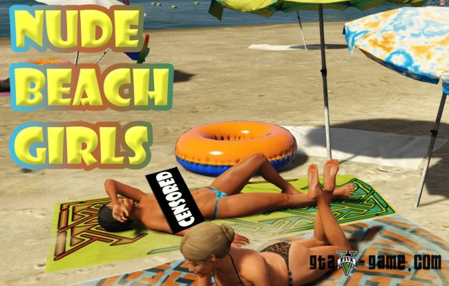 Beach Girls мод на обнаженных девушек на пляже 18+
