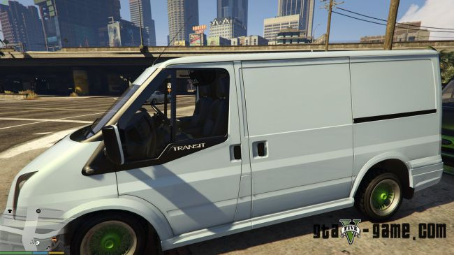 Ford Transit Low Rider - Форд транзит для гта 5