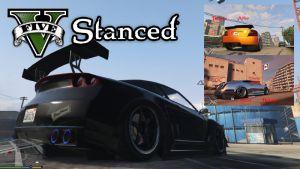 VStanced - мод на занижение подвески машин в гта 5