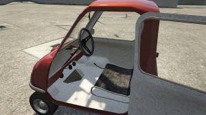 Peel P50 - микро автомобиль из Top Gear в гта 5