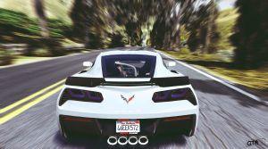 Chevrolet Corvette - Шевроле Корвет мод для gta 5