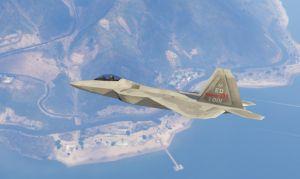 F-22 Raptor - Ф 22 раптор,  истребитель армии США