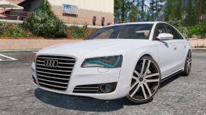 Audi A8 - мод на машину Ауди А8 для Gta 5