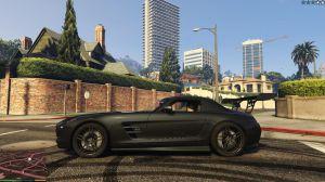Mercedes Benz SLS AMG - Мерседес Бенц мод для гта 5