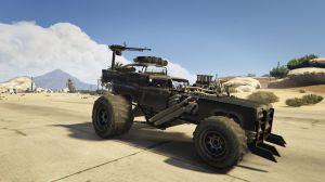 The Gigahorse - боевой монстр на больших колесах