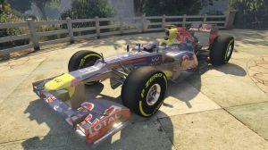 Red Bull F1 мод на гоночную машину формулы 1 для гта 5