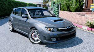 Subaru Impreza WRX STI - субару импреза врикс для гта 5