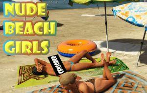 Nude Beach Girls мод на обнаженных девушек на пляже 18+