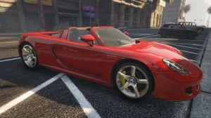 Porsche Carrera GT - порше карера GT для гта 5