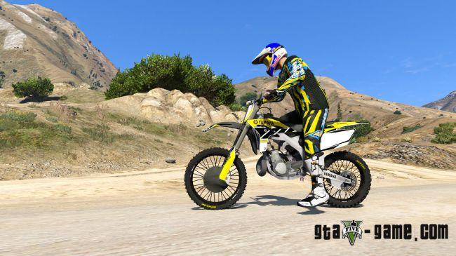 Yamaha YZ 250 - мотоцикл Ямаха для гта 5