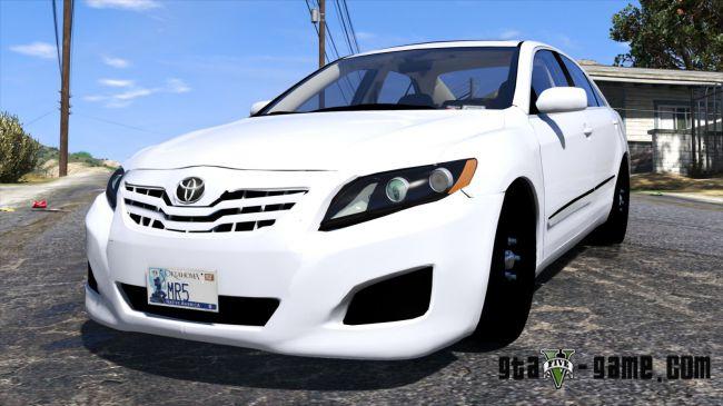 Toyota Camry 2011 - Тойота камри для гта 5