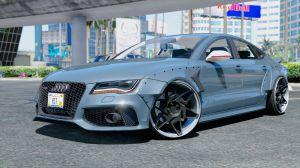 Audi RS7 - новый шикарный седан Ауди РС7 для гта 5