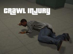 Crawl Injury - ползающие раненые люди