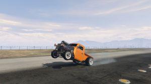Burnout Wheelie - вилли на машине, встать на дыбы