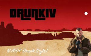 DrunkIV режим пьяного как в гта 4, для гта 5