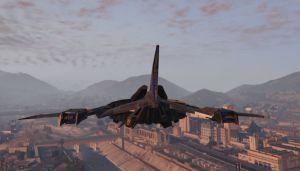 Batwing - самолет бетмена для гта 5