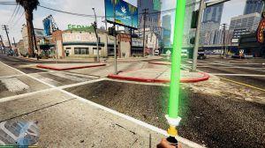 Star Wars Toy Light Saber - световой меч из звездных воин