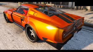 1967 Shelby Mustang GT500 - шелби мустанг Gt500 для гта 5