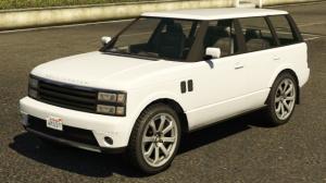 Range Rover Supercharged - внедорожник рейндж ровер