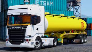 Scania R730 - грузовая скания для гта 5