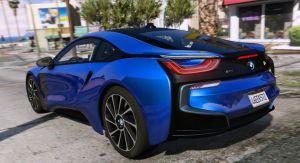 BMW i8 - концепт кар бмв для гта 5