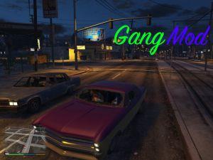 GangMod - вступи в банду в гта 5