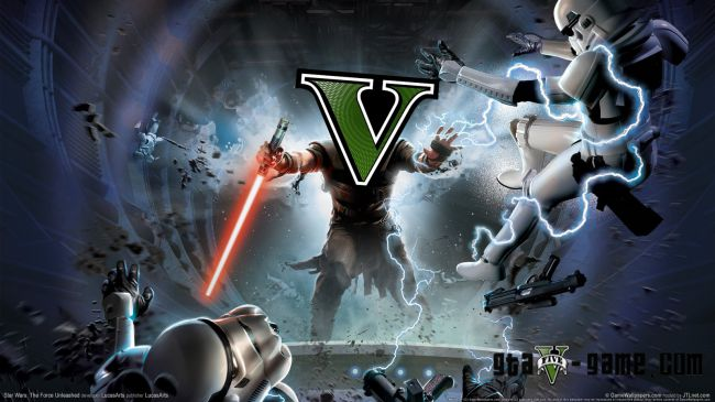 The Force Unleashed - силы джедая для гта 5