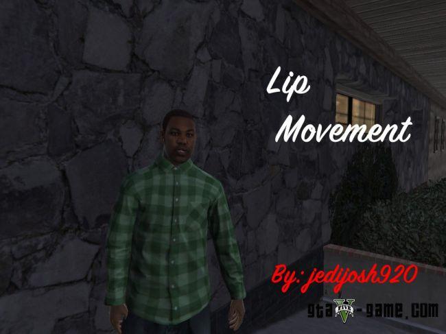 Lip Movement - говорящий персонаж, анимация разговора