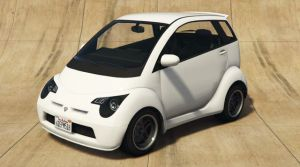 Smart ForTwo - мини автомобиль смарт для гта 5