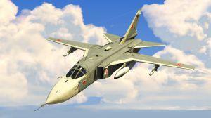 Sukhoi SU-24M - сухой СУ-24М - русский бомбардировщик